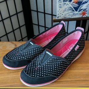 Keds Aria Polka Dot Slip-on Shoes